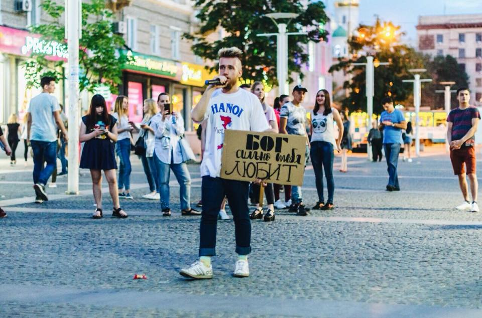 Steiner Union evangelizando en las calles de Rusia,Steiner Union, evangelizar Rusia