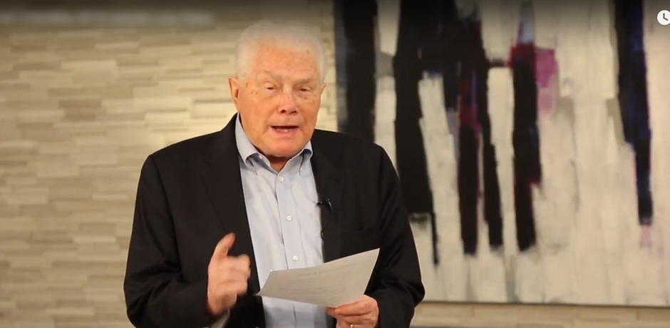 Palau en video publicado en YouTube,Luis Palau, evangelismo