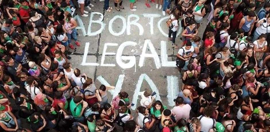 Manifestación pro aborto legal en Argentina / Foto de archivo,proaborto Argentina