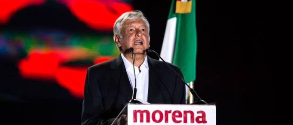 López Obrador, Presidente de MORENA / Getty Images