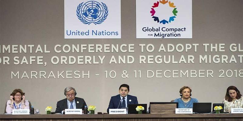Sesión plenaria presidida por el secretario general de la ONU, Antonio Guterres,