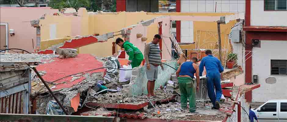 Pobladores de las zonas afectadas describen la fuerza de los vientos de manera descomunal / Consejo de Iglesias de Cuba,
