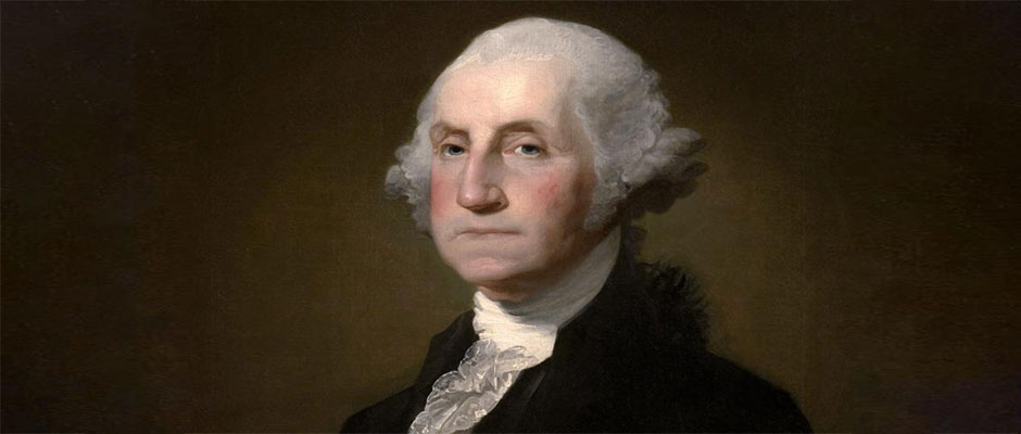 Presidente George Washington (Pintura por Gilbert Stuart: Dominio Público),