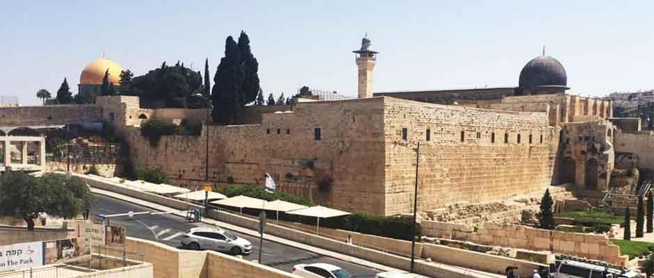 El Monte del Templo es un lugar sagrado ubicado en la ciudad vieja de Jerusalén.,