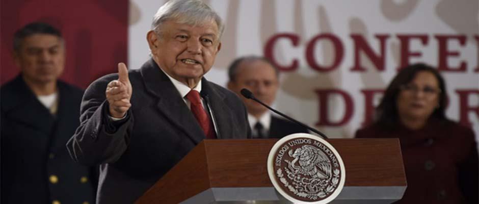 Andrés Manuel López Obrador, Presidente de México,