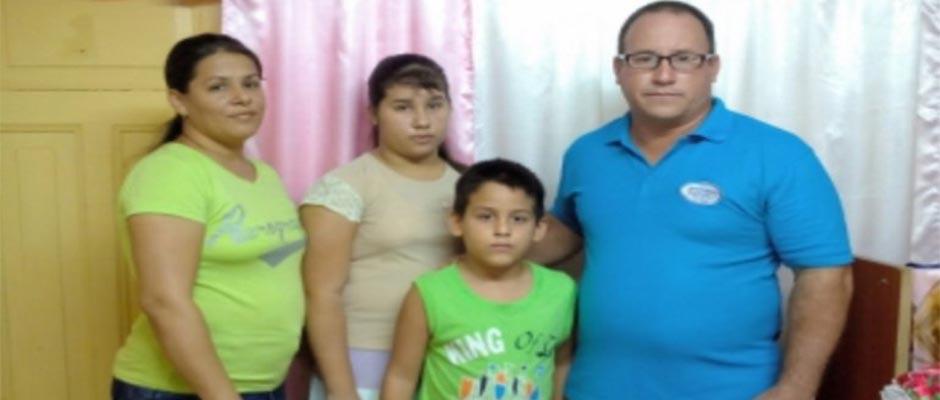 La familia Rigal Expósito,