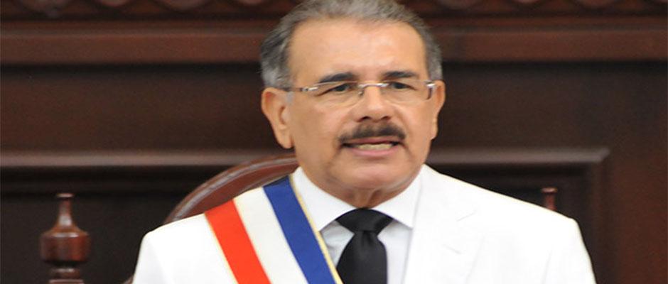 Danilo Medina, presidente de República Dominicana,