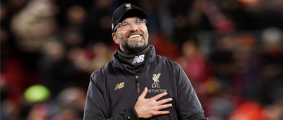 Jürgen Klopp, en el partido con el Barcelona,Jürgen Klopp, Liverpool