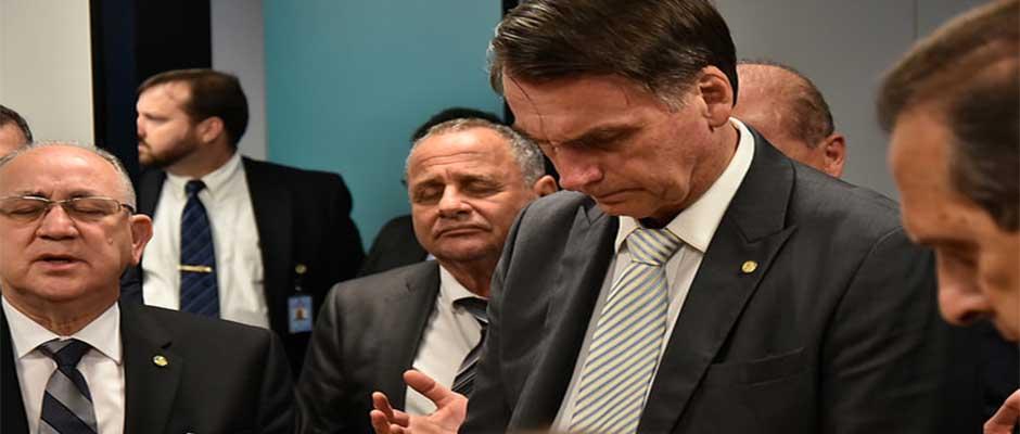 Bolsonaro ha estado muy cerca de los evangélicos,