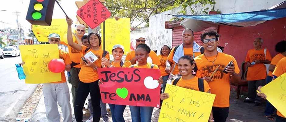 Jóvenes dominicanos participaron con emoción / NCN News,