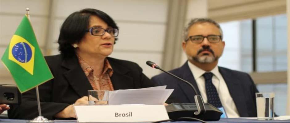 Ministra de Mujer, Familia y Derechos Humanos de Brasil, Damares Alves / Actuall,Damares Alves