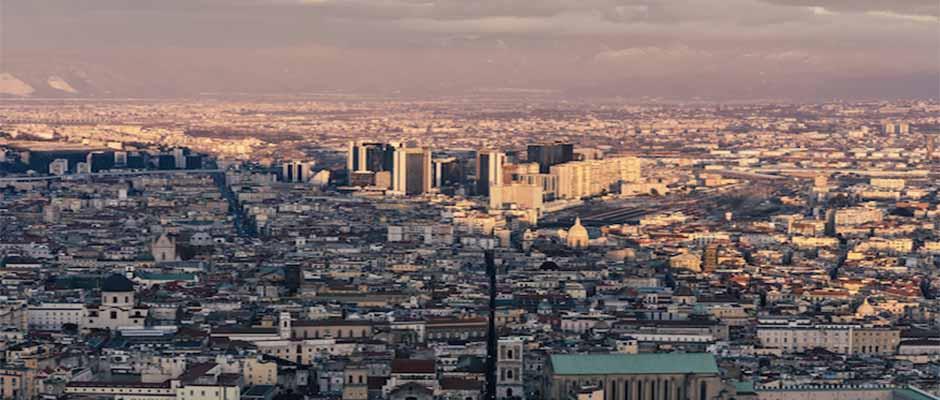 Vista de la ciudad de Nápoles. / Pier Luigi Valente, Unsplash CC,
