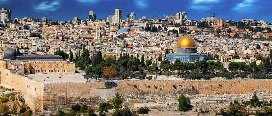 La ciudad de Jerusalén / Pixabay,Jerusalén