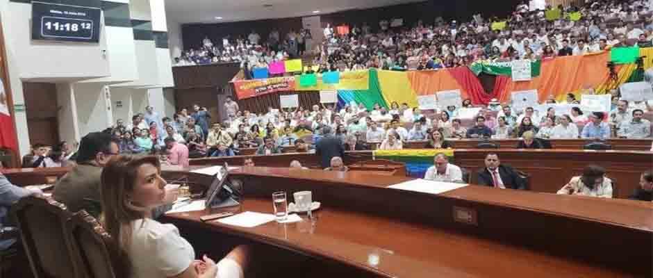 Estado de Sinaloa rechazó el dictamen a favor del matrimonio igualitario. / Congreso de Sinaloa,