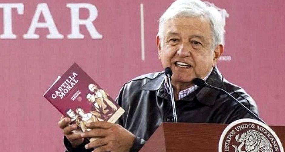 AMLO presenta la Cartilla Moral del Gobierno mexicano,Cartilla Moral AMLO