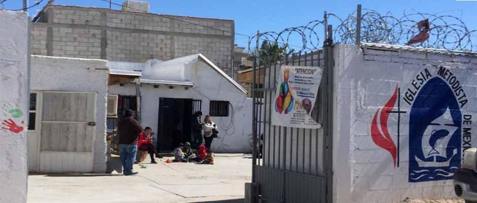 Albergue de la Iglesia Metodista en Ciudad Juárez / Net Noticias,Albergue