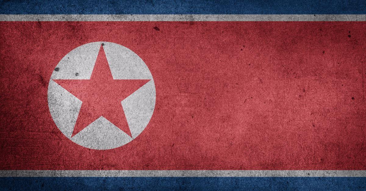 Corea del Norte es uno de los regímenes más represivos contra el cristianismo / Pixabay,Bandera Corea del Norte