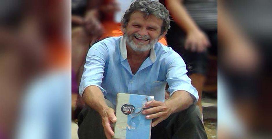 Juan Bautista Cárdenas es miembro de una Iglesia Bautista en Camagüey,