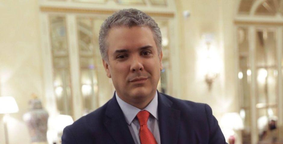 Iván Duque, presidente de Colombia,Iván Duque, presidente de Colombia