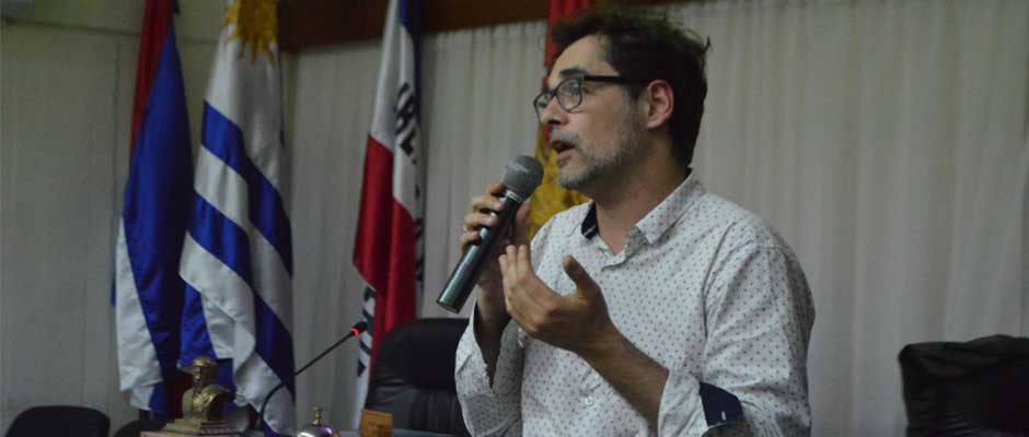 Federico Graña, Director Nacional de Promoción Social de Uruguay,
