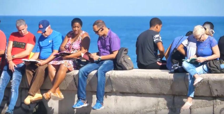 Lectura de la Biblia en el Malecón en 2018,Lectura de la Biblia en el Malecón en 2018