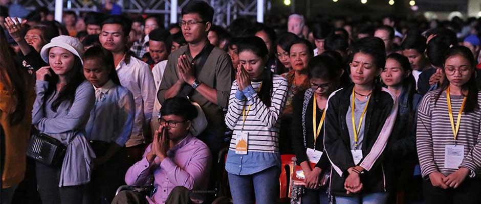 Fue el mayor alcance cristiano en el país, con 23.700 asistentes,Evangelismo
