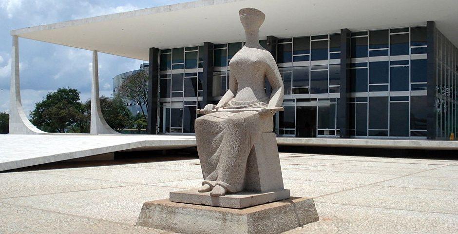 Exterior del Tribunal Supremo de Brasil,Exterior del Tribunal Supremo de Brasil
