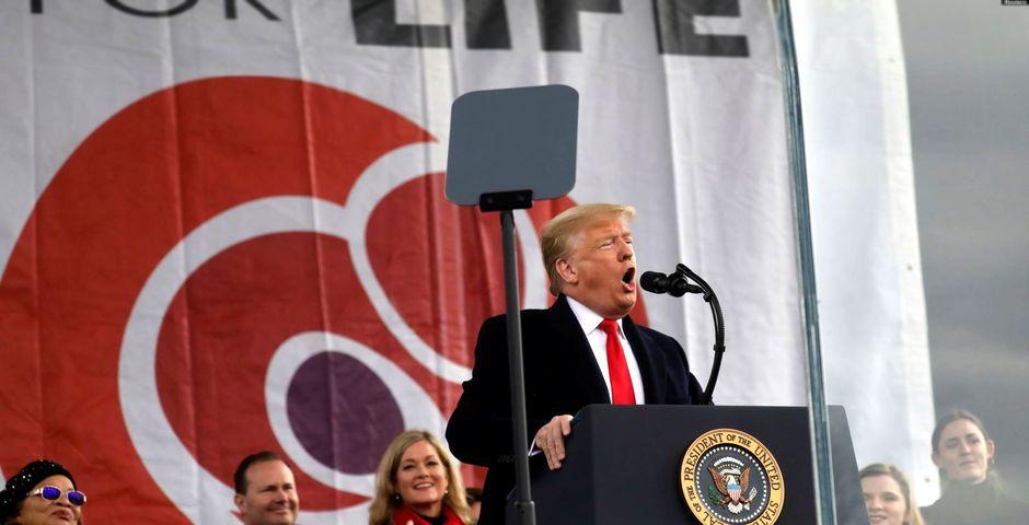 Donald Trump se dirige a la 47ª Marcha por la Vida en Washington (24 de enero de 2020),Donald Trump se dirige a la 47ª Marcha por la Vida en Washington (24 de enero de 2020)