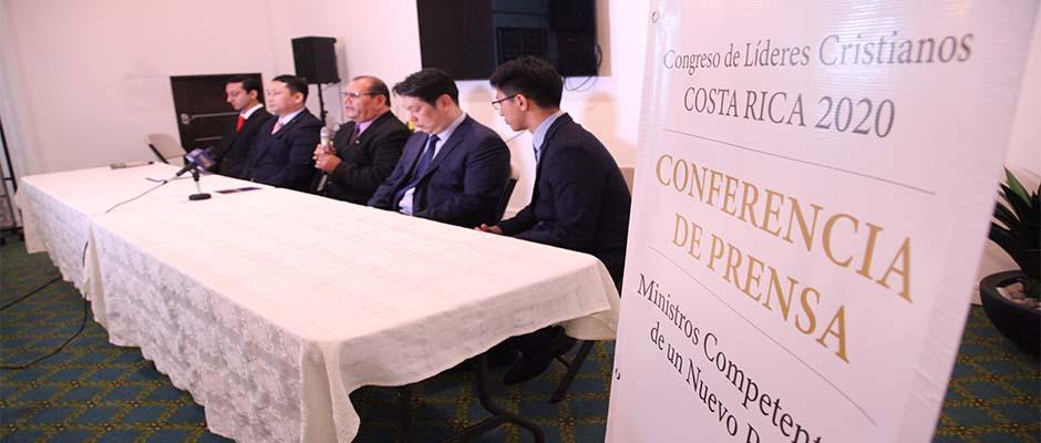 Líderes coreanos y costarricenses presentaron el evento / Enlace,