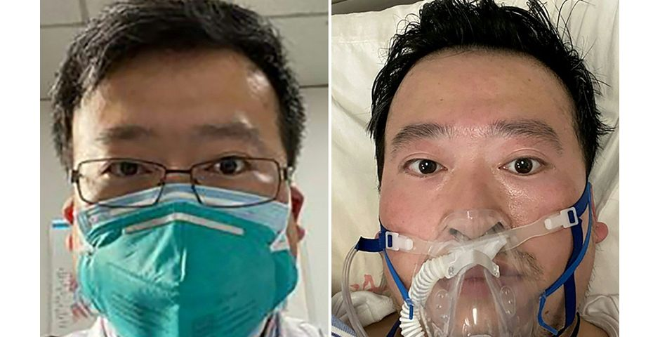 Li Wenliang, como médico y tras contagiarse del coronavirus,Li Wenliang, como médico y tras contagiarse del coronavirus