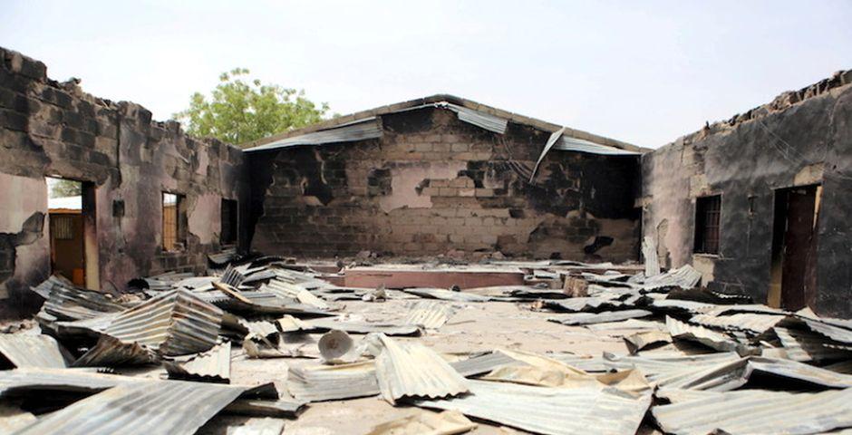 Una iglesia quemada por Boko Haram en Nigeria, en marzo de 2015   REUTERS, Joe Penney,iglesia quemada