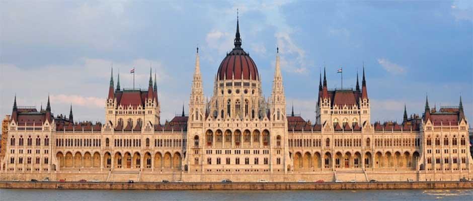 El Parlamento de Budapest,
