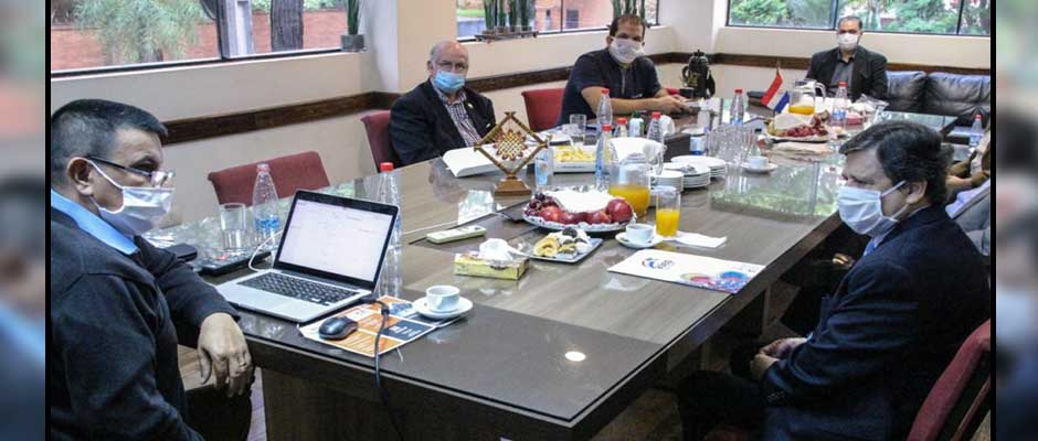 El ministro del interior reunido con líderes evangélicos / AEL,