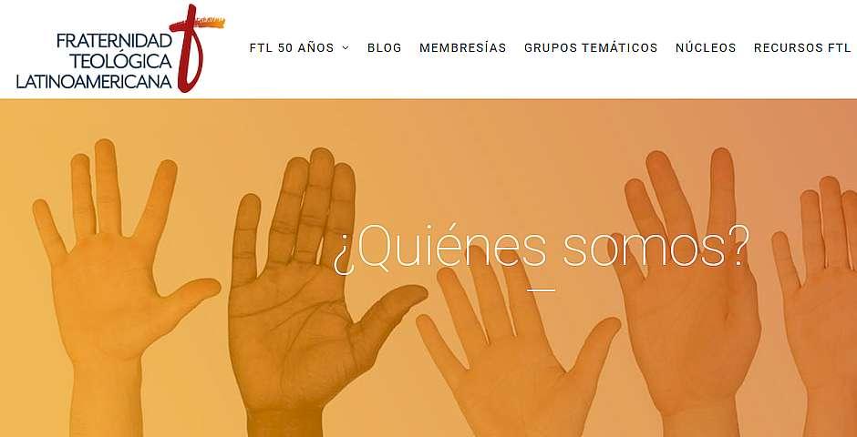 Web de la Fraternidad Teológica Latinoamericana,Fraternidad Teológica Latinoamericana