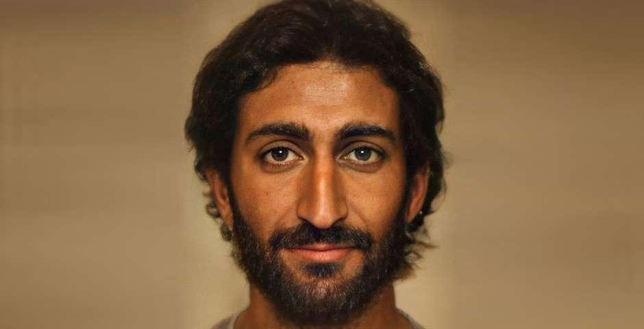 Retrato de Jesús / Bas Uterwijk,Retrato de Jesús, Bas Uterwijk