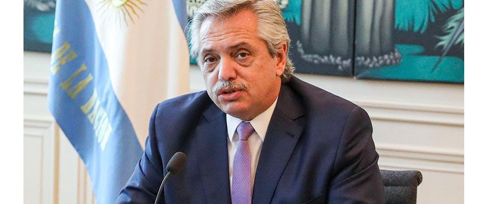 El presidente Alberto Fernández enviará el proyecto al Congreso tan pronto se pueda,Alberto Fernández