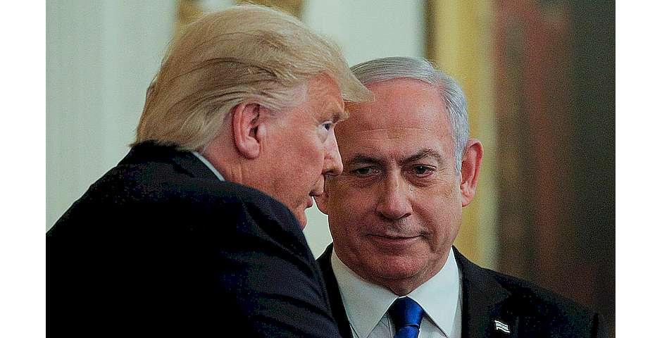 Donald Trump y Benjamín Netanyahu, el pasado enero en Washington.BRENDAN MCDERMID / REUTERS,Donald Trump y Benjamín Netanyahu