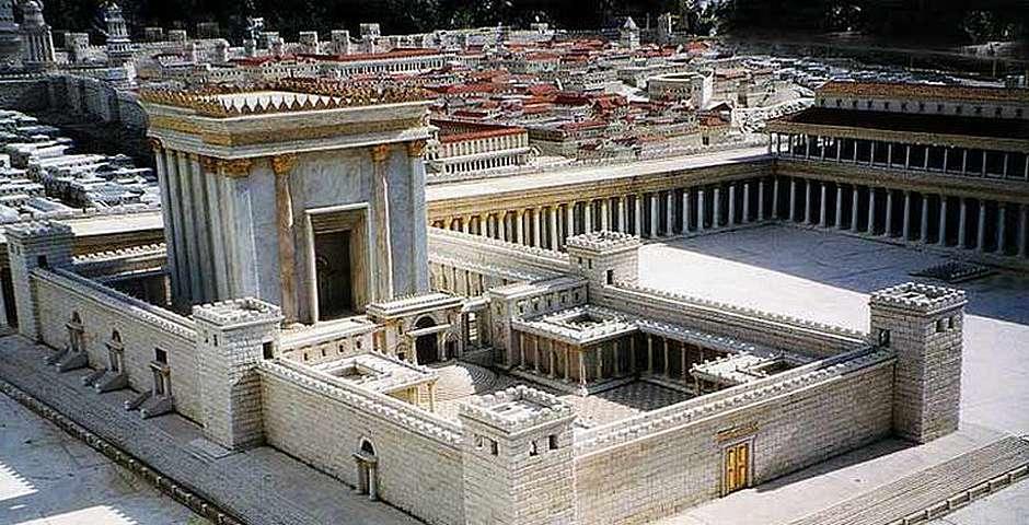 Maqueta del Templo y Jerusalén en tiempo de Jesús,Maqueta del Templo y Jerusalén en tiempo de Jesús