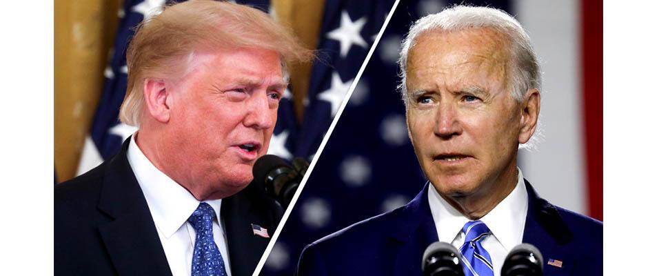 Entre Donald Trump y Joe Biden se decidirá la elección presidencial en noviembre / Reuters,Donald Trump, Joe Biden