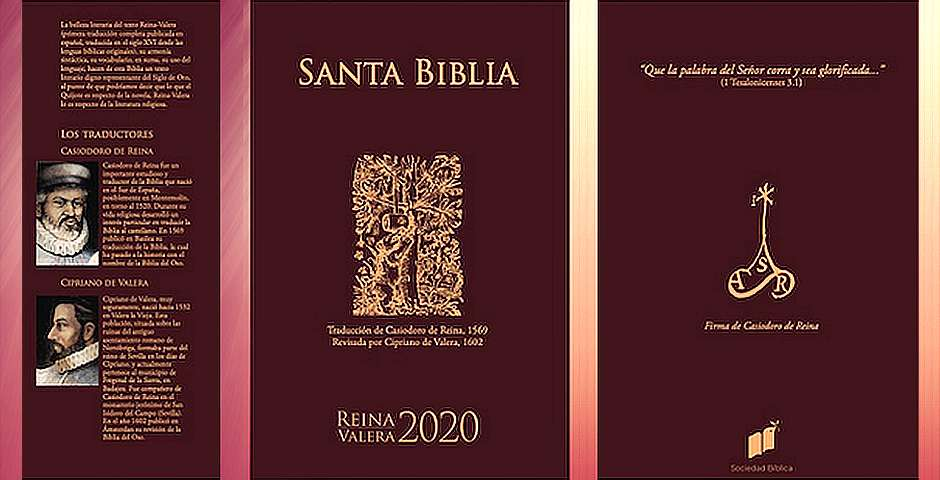 Cubierta de la biblia RV2020,Cubierta de la biblia RV2020