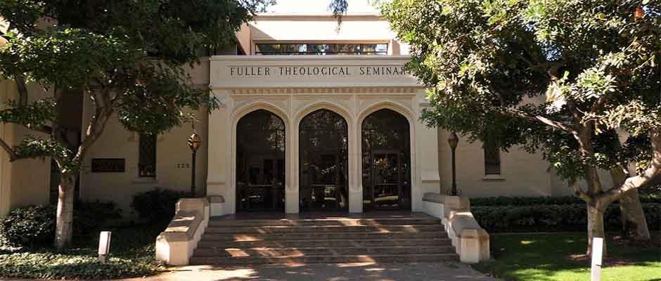 Un edificio del Seminario Teológico Fuller en Pasadena, California. / Bobak Ha'eri, Wikimedia Commons,Seminario Teológico Fuller