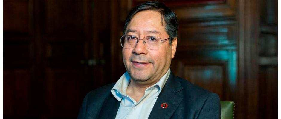 Luis Arce candidato presidencial boliviano del Movimiento Al Socialismo,Luis Arce
