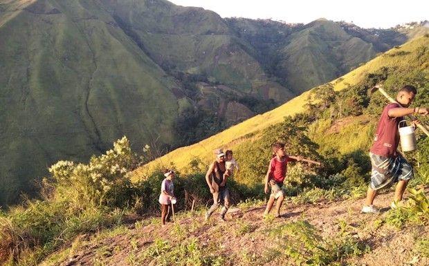 Huertos familiares para sembrar alimentos y esperanza en Venezuela