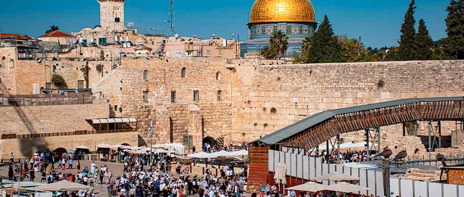 El Muro de los Lamentos en Jerusalén / Imagen por Ri Butov de Pixabay,Jerusalén