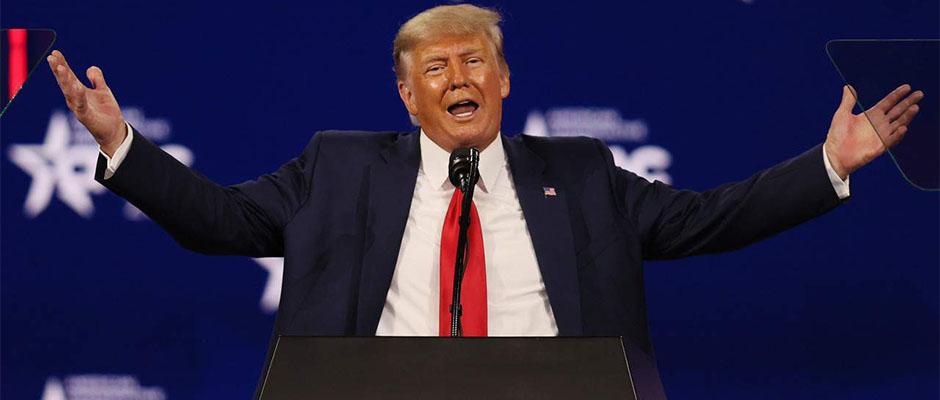 Trump en la Conferencia de Acción Política Conservadora (CPAC) 2021 / Joe Raedle,Donald Trump