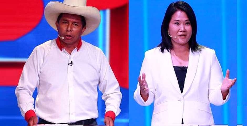 Pedro Castillo y Keiko Fujimori,Pedro Castillo, Keiko Fujimori