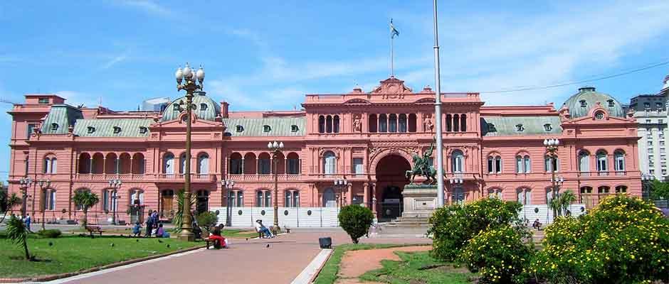 La Casa Rosada, sede del Ejecutivo argentino / Foto por julian zapata de Pixabay,